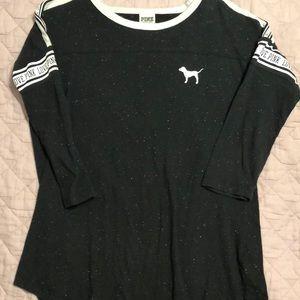 Speckled Victoria's Secret 3/4 sleeve shirt